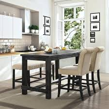 black counter height dining set tall medium size of room