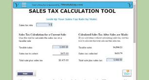 7 125 Sales Tax Chart How To Add Sales Tax 7 Steps With Pictures Wikihow