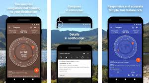 This app featured a simple to use interface, a dampened card that swings naturally. 5 Best Compass Apps For Android Android Authority