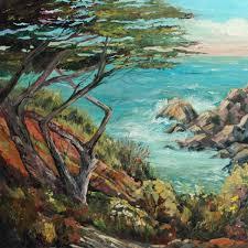 plein air artist fine art oil painter