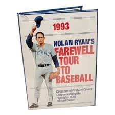 Lot-Art | Nolan Ryan Autographed First Day Covers Stamps