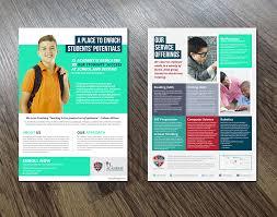 Website Design Suwanee Ga Elegant Playful Education Flyer Design For Xlacademy Llc