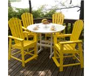 plastic patio furniture. Resin Dining And Bar Tables Plastic Patio Furniture