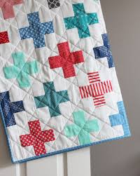 Simple Addition Plus Quilt | Quilts | Pinterest | Simple addition ... & Scrappy quilts Adamdwight.com