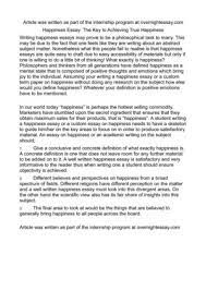 happiness essay happiness in public policy an essay from the  happiness essay happiness in public policy an essay from the journal for social cha com