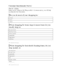 Sample Questionnaire Cover Letters Cover Letter Quantity Surveyor Customer Survey Templates