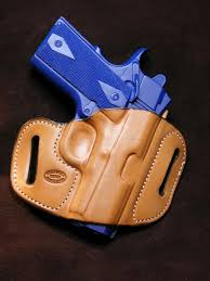 holsters belts pouches hunting leather pancake owb holster for colt 1911 commander handmade in the usa