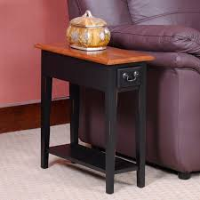 leick home rustic slate table chairside lamp tabl on leick coffee table for home design