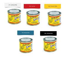 Details About 1 Shot 4oz 5 Color Set Lettering Primary Color