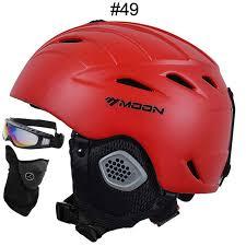 Snowboard Helmet Sizing Chart Red Moon Ski Helmet Ultralight Breathable Ski Snowboard Helmet Size S M L Xl