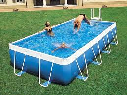 above ground pool on concrete above ground pool for can i put an above ground