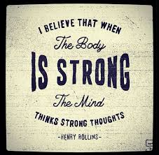 Strong Mind Quotes Mesmerizing Best Health And Fitness Quotes Strong Body Strong Mind