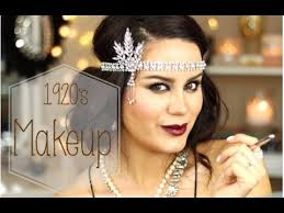 gatsby 1920 39 s inspired makeup tutorial makeupbygio