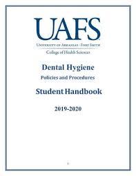 Mask Off Recorder Finger Chart Dental Hygiene Policies Procedures Manual By University Of
