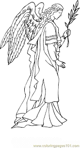 Small Picture Christmas Angel Coloring Page 14 Coloring Page Free Angel