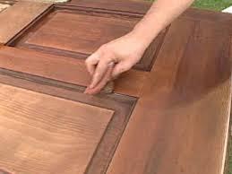 Exterior Door solid exterior door pics : How to Refinish a Solid Wood Door | how-tos | DIY