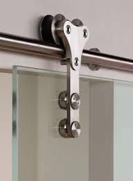 projeto xtrag frameless glass sliding door gear