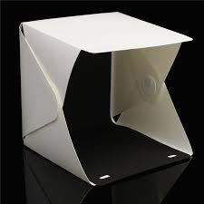 mini photo studio box portable photography lighting backdrop built in light photo light room softbo 22 6 x 23 x24cm in photo studio accessories from