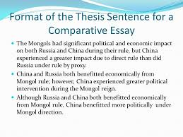Comparative Essay Thesis Free Response Comparative Essay Ppt Download
