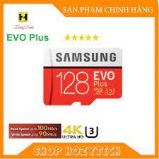 Thẻ nhớ 128gb samsung U3 Class 10–chuyên dụng cho CAMERA, Điện thoại, Máy  ảnh tốt giá rẻ