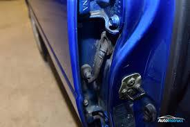 repairing door wiring looms subaru impreza gc8
