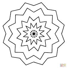 Kids Mandala Coloring Pages For Free With Free Printable Mandala