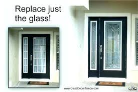 replacement door glass french door glass replacement inserts entry pertaining to idea 6 sliding replacement door glass