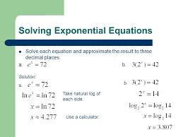 4 solving exponential