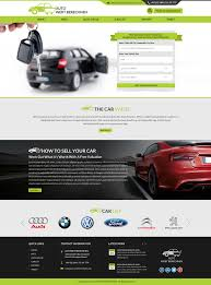 Car Dealer Website Design Professional Serious Car Dealer Web Design For A Company