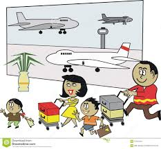 Image result for airport terminal cartoon