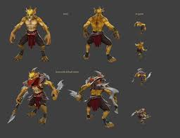 dota 2 bounty hunter set need suggestions polycount