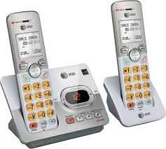 at t el52203 dect 6 0 expandable cordless phone system with digital answering system silver el52203 best
