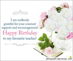 Teachers Birthday Card Teachers Birthday Cards Teachers Birthday Greetings And