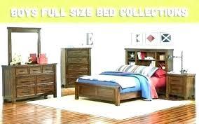 Boys Full Size Bedroom Set Kids Bed And Dresser Sheets Sets Wh ...