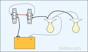 two way electrical switch wiring diagram Two Way Switch Wiring Diagram simple home electrical wiring diagrams sodzee com two way switch wiring diagram color