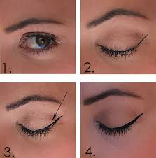 start with a simple natural lid we love using the matte collection shadows for a cly natural look 2 using the liquid eye definer draw a thin