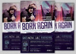 Album Release Flyer Templates Party Brochure Template 30 Vibrant ...