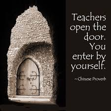 Open Door Quotes Magnificent QUOTE] Teachers Open The Door You Enter By Yourself Dawn Productions