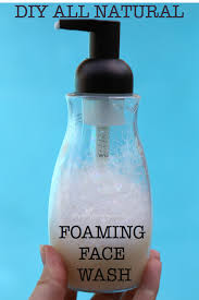all natural foaming face wash recipe wholelifestylenutrition com