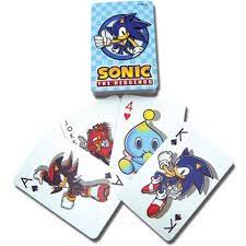 1 game summary 2 play sequence 3 card elements 4 discards 5 decks and cards 6 external links two players race to be the first to obtain three chaos emeralds. Sonic The Hedgehog Sonic Playing Card Walmart Com Walmart Com