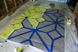 progress painting outdoor rug bohemian decorating for meme how to paint an area