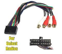 car stereo radio replacement wire harness for some jensen 20 pin car stereo radio replacement wire harness for jensen 20 mcda1 mcd6115 mce4810w