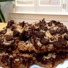 magic bars coconut chocolate condensed milk
