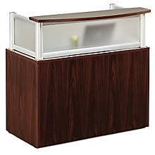 office glass desks. Neoterik Collection Reception Desk- 48\ Office Glass Desks I
