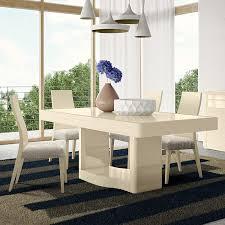 onda high gloss or wood veneer 16m dining table high gloss wood furniture64 gloss