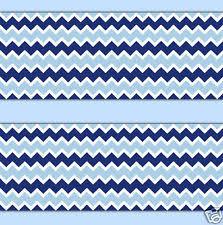 blue chevron wallpaper border wall decals baby boy nursery room stickers decor baby nursery ba room wallpaper border dromhfdtop