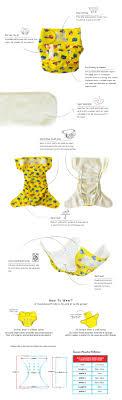 Summer Paradise 2 In 1 Reusable Swim Diaper Cloth Diaper Pineapple