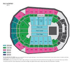Seating Chart For Paul Mccartney Paul Mccartney Wait List Iowa Events Center