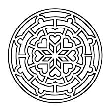 Page De Mandalas Gratuits Mandala A Colorier Zen Relax Gratuit