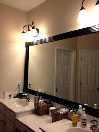 black framed bathroom mirrors. Mirror Tiles Lowes Black Frames Bathroom Mirrors Under Above Double Vanities Acrylic Framed